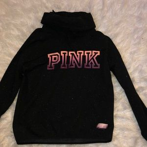VS Pink Cowl Neck Sweater
